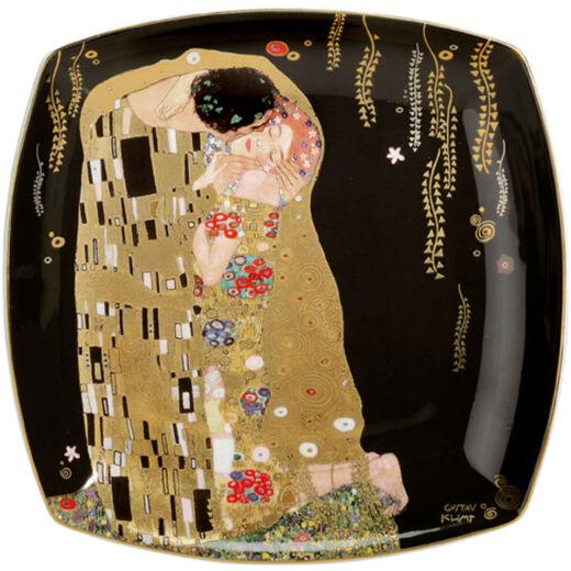 Goebel Artis Orbis - Gustav Klimt / Desszert Tányér - The Kiss