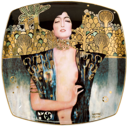Goebel Artis Orbis - Gustav Klimt / Desszert Tányér - Judith