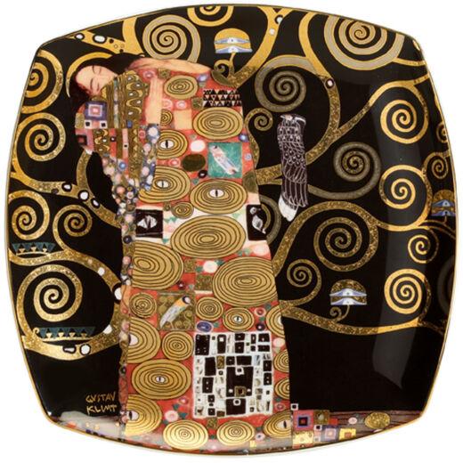Goebel Artis Orbis - Gustav Klimt / Desszert Tányér - Fulfilment