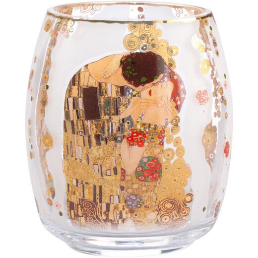 Goebel Artis Orbis - Gustav Klimt / Mécsestartó - The Kiss