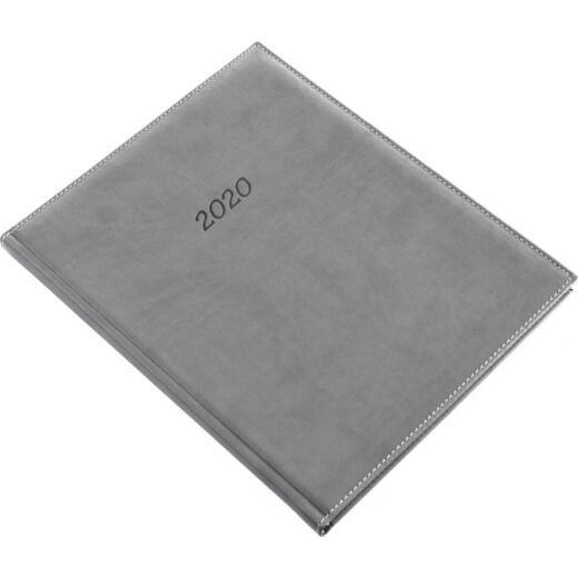 Realsystem Bolero A/4 S heti naptár, 2020 - Szürke