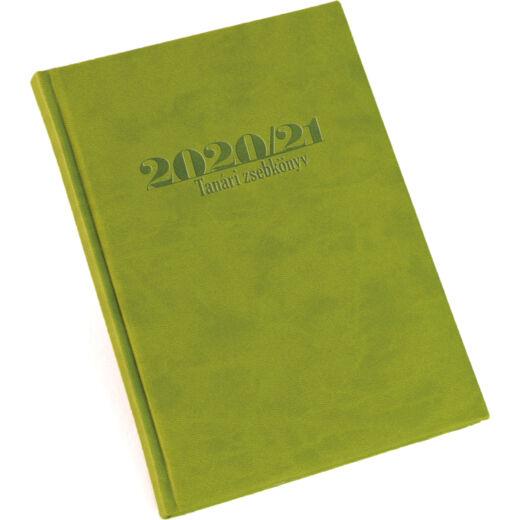 Realsystem tanári zsebkönyv 2020/2021 - Zöld
