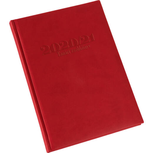 Realsystem tanári zsebkönyv 2020/2021 - Piros