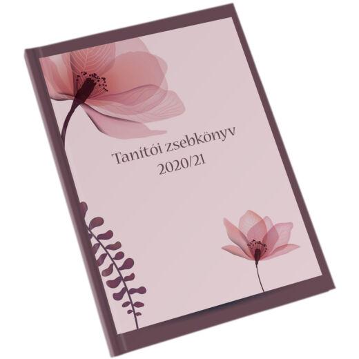 Realsystem tanítói zsebkönyv 2020/2021 - Lila szirmok