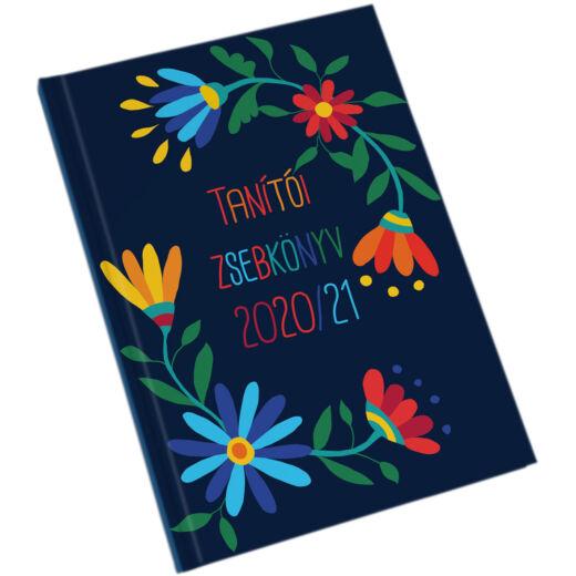 Realsystem tanítói zsebkönyv 2020/2021 - Virágminta