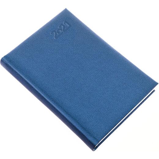 Realsystem Pearl A/5 napi naptár, 2021 - Kék