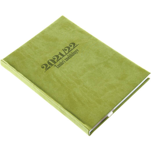 Realsystem tanári zsebkönyv 2021/2022 - Zöld