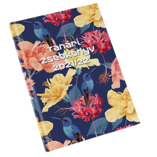 Realsystem tanári zsebkönyv 2021/2022 - Virágminta