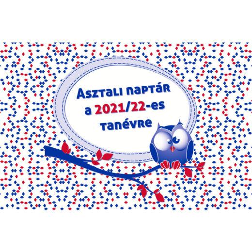 Realsystem asztali naptár a 2021/2022-es tanévre