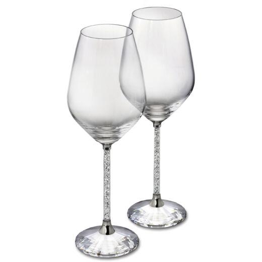 Swarovski Crystalline White Wine Glasses (Szett 2)