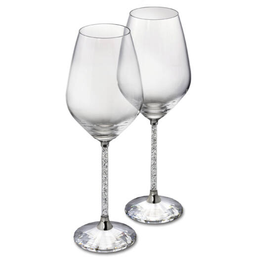 Swarovski Crystalline White Wine Glasses (Szett 2)