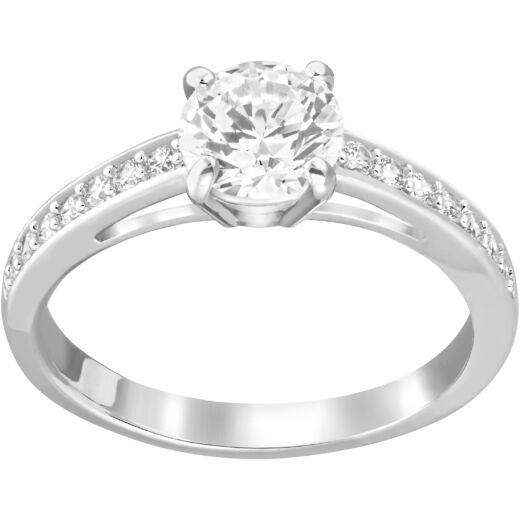 Swarovski Attract:Gyűrű Rnd Pave Czwh/Rhs 55