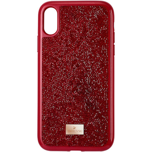 Swarovski Glam Rock iPhone® XR:Telefon Hátlap Red/Sts Pgo