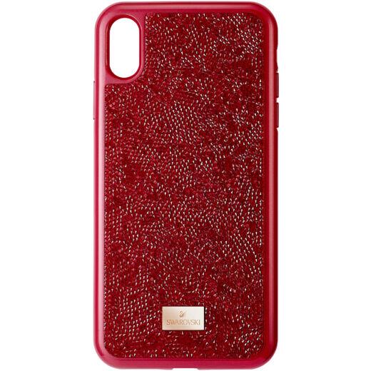 Swarovski Glam Rock Ipxs Max:Telefon Hátlap Red/Sts Pgo