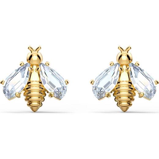 Swarovski Eternal Flower:Fülbevaló Bee Czwh/Gos