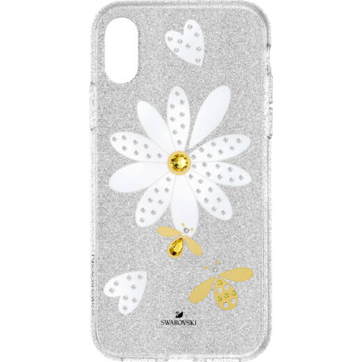 Swarovski Eternal Flower iPhone® X/XS:Telefon Hátlap Multi