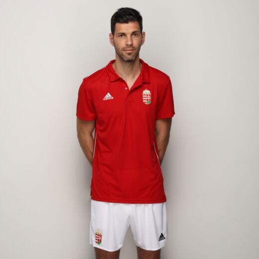 Adidas piké póló Magyarország piros 'L'