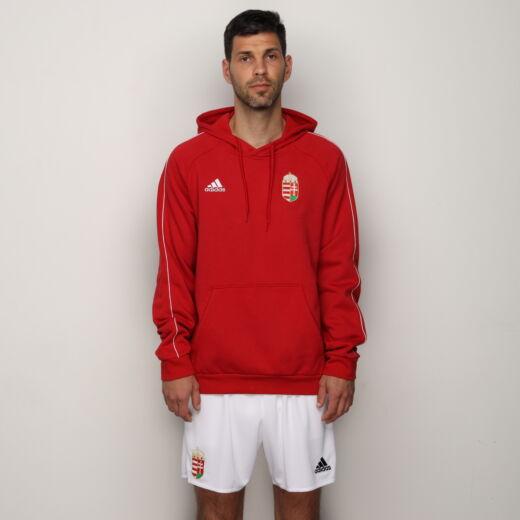 Adidas szurkolói kapucnis pulóver Magyarország piros 'L'