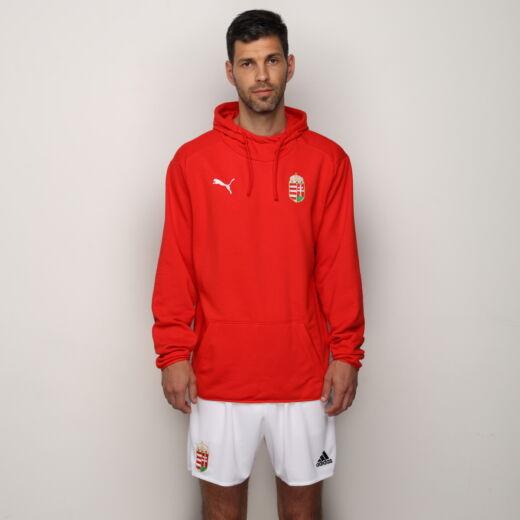 Puma szurkolói kapucnis pulóver Magyarország piros 'L'