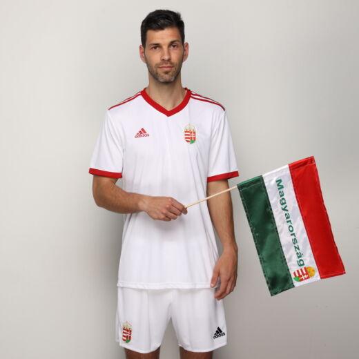 Magyarország szurkolói zászló zászló nyomott 42*28cm