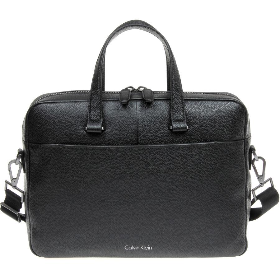 Calvin Klein Basic Leather férfi laptoptáska - Reálszisztéma ... 8550c563b6