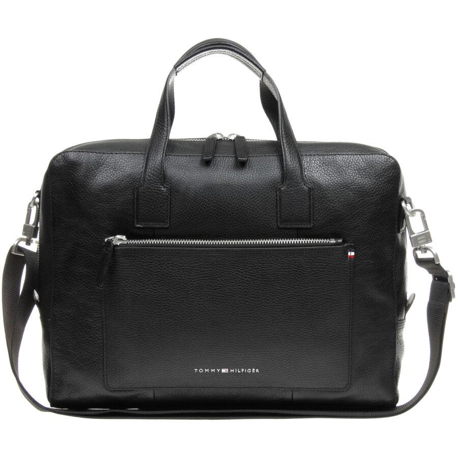 Tommy Hilfiger Soft Leather férfi laptoptáska - Reálszisztéma ... 92a81d340d